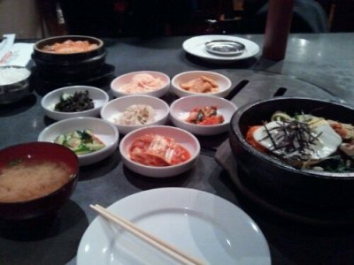 Bibimbap at Koreana in Cambridge