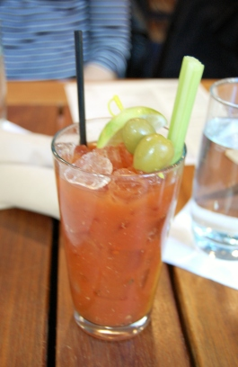 Bloody Mary at Back Deck in Downtown Crossing